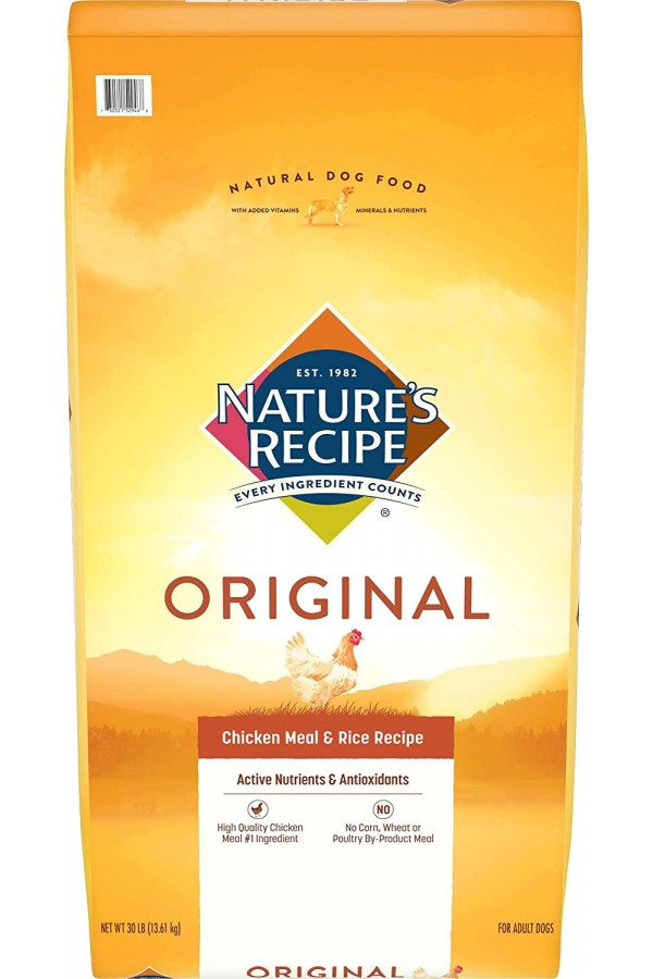 Nature's Recipe Adult Dry Dog Food (30 Pounds)