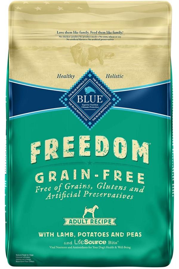 Blue Buffalo Freedom Grain Free Recipe for Dog, Lamb Recipe