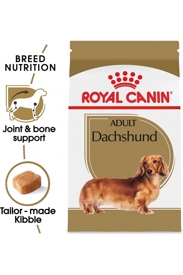 Royal Canin Dry Dog Food, Dachshund Formula, 10-Pound
