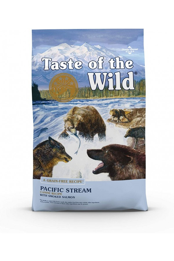 Taste of the Wild High Protein Real Meat Recipe Premium Dry Dog Food with Smoked Salmon