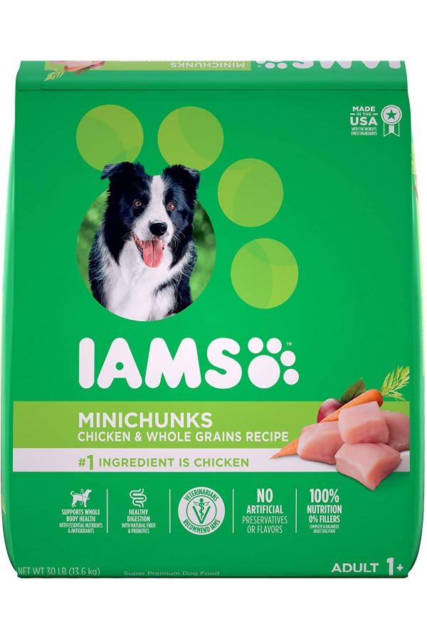 IAMS PROACTIVE HEALTH Minichunks Dry Dog Food, Chicken Flavor