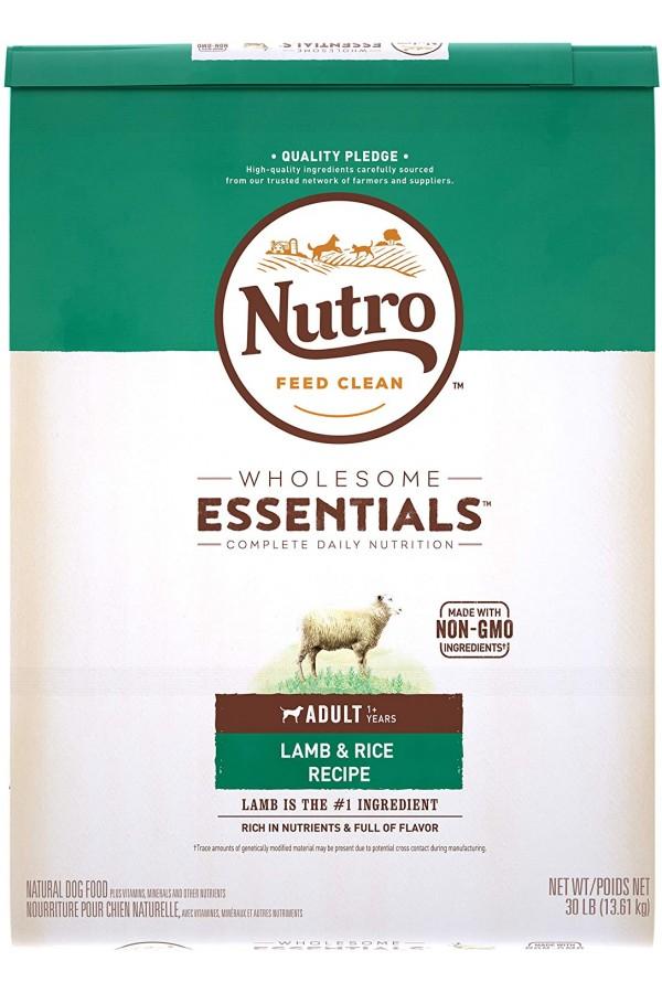 NUTRO WHOLESOME ESSENTIALS Adult Lamb & Rice Recipe Dry Dog Food