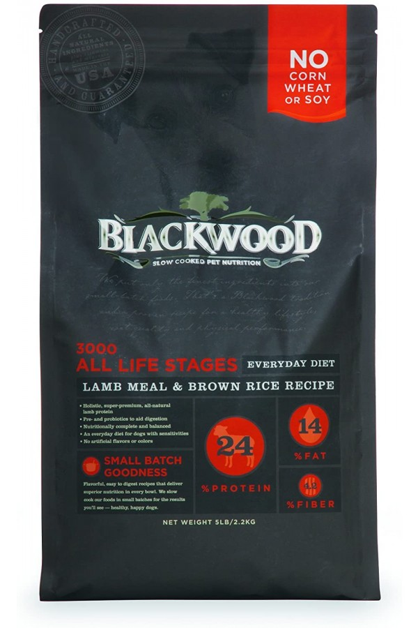 Blackwood Dog Food Everyday Diet Made in USA [Natural Dry Dog Food for All Breeds and Sizes]