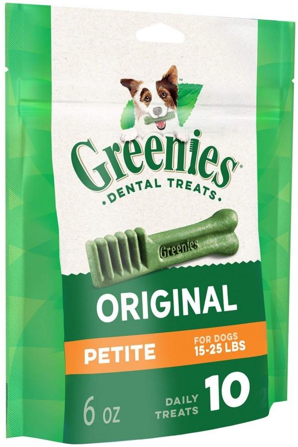 Greenies Original Petite Natural Dog Dental Treats (15-25 lbs.)