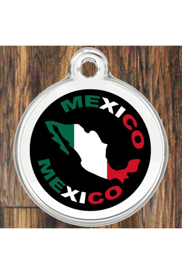 Enamel Pet Tags Round (Mexico)