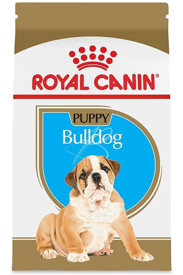 Royal Canin Bulldog Puppy Dry Dog Food, 30-Pound Bag