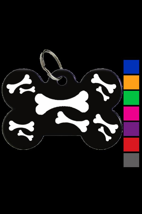 Bijoux Art Tags - Bones