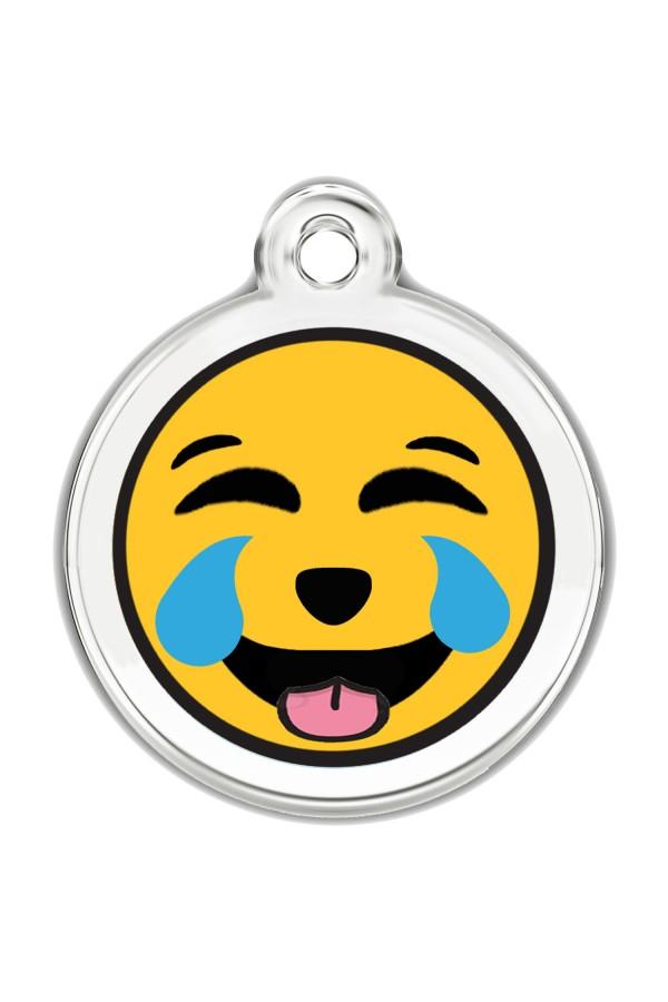 Enamel Pet Tags Round (Tears of Joy)