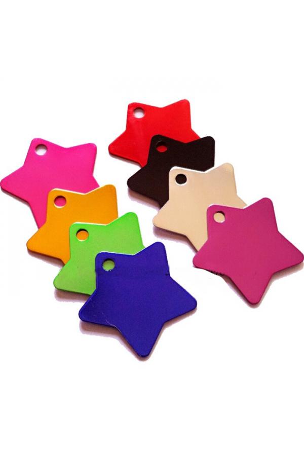 Blank Tags - Aluminum Star