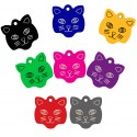 Aluminum Pet Tags (Cat Face)