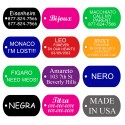Aluminum Pet Tags (Military) by CNATTAGS