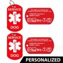 Service Dog ID Badge (Set of 2)