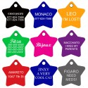 Aluminum Pet Tags (Star)