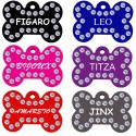 Swarovski Crystals Pet Tags (Bone)