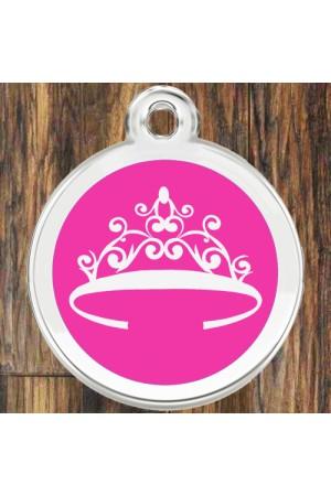 Enamel Round Crown