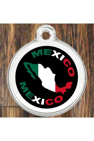 Enamel Pet Tags Round (Mexico)