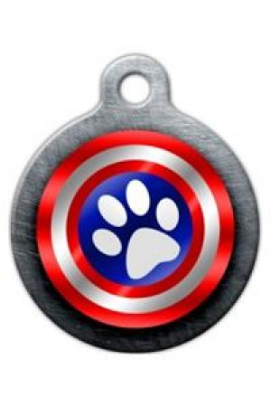 Pet Tag ART (Captain Paws)