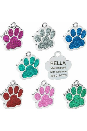 Glitter - Pet Tags Paws