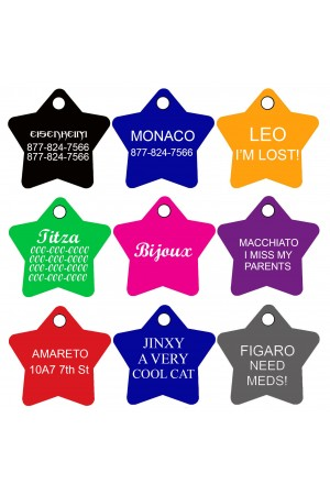 EMBROIDERED PET COLLARS - PERSONALIZED COLLARS FOR DOGS, ADJUSTABLE SIZES AND COLORS, PREMIUM NYLON